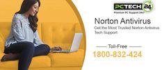 Norton Technical Support via 1800-832-424