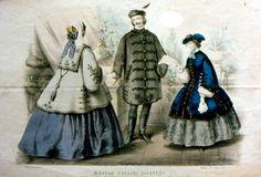 Hungarian fashion 1848