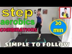 level 1 step aerobics beginner step aerobics with strength training focus aft Step Aerobic Workout, Step Up Workout, Low Impact Cardio Workout, Aerobics Workout, Best Cardio Workout, Workout Videos, Aerobics Videos, Step Aerobics, Strength Training For Beginners
