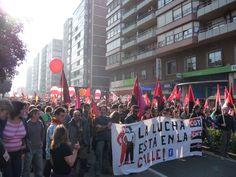 "#29M Huelga General - ""La lucha está en la calle"" (Santander, Cantabria) - #29M General Strike - ""Fight's in the street""(Santander, Spain)"