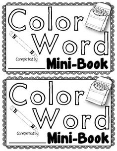 spell words with letters color word practice set 4 color word activities included 5437