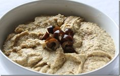 Black Olive Hummus: This has a strong flavor of a tapenade but with all the creaminess of a hummus. It's definitely a winning potluck recipe.
