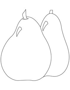 Apple Coloring Page | Apliques moldes | Pinterest | Apples and Free ...