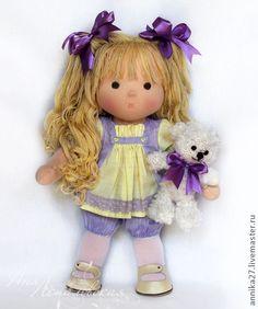 Waldorf hračky ručné.  Fair Masters - ručné Violetta.  Ručné.