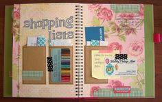 Summer Smash Book - Shopping Lists Updated by Tessa Buys, via Flickr