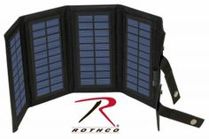 Rothco MOLLE Compatible Foldable Solar Charger