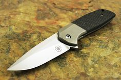 David Stout Knives | David Mosier Custom Liong Mah Design GSD Flipper Knife - Folders ...