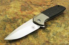 David Stout Knives | David Mosier Custom Liong Mah Design GSD Flipper Knife - Folders ...