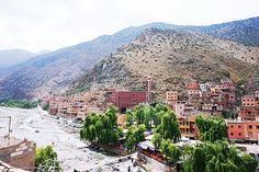 Ourika Valley Waterfalls Marrakech Morocco #ourikavalley #morocco #guide