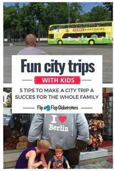 5 tips for successful city breaks with kids. Do you dread city breaks with your family? In our experience city trips with kids can be a lot of fun! Just use these 5 tips to make your family city trip a success for the whole family. Travel With Kids, Family Travel, Travel Photos, Travel Tips, Travel Destinations, All Family, City Break, Family Adventure, Trip Planning
