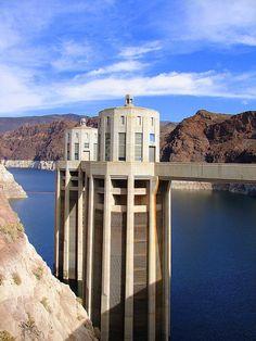 Hoover Dam is beautiful