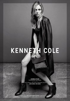 Kenneth Cole Taps Andreja Pejic For Fall Campaign