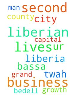 I am a Liberian lives in the second - I am a Liberian lives in the second capital city of Liberia Grand Bassa County. I am a business man I need ur prayers for the growth of my business. TWah Bedell  Posted at: https://prayerrequest.com/t/ItQ #pray #prayer #request #prayerrequest