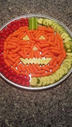 Halloween veggie tray More
