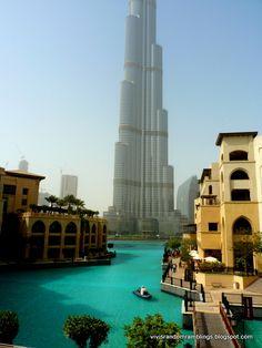 Souk Al Bahar, Dubai overlooking Burj Khalifa