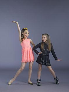 Maddie & Mackenzie is such a good dancer. I also love them.