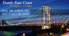 #USATourPackages  #EastCoastTours  #USAEastCoastHolidays Book Budget #HolidayPackages for USA 2015 from Delhi India with amazing discounted prices.