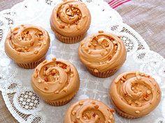 Magnolia Bakery's peanut butter & jelly cupcakes: http://greatideas.people.com/2014/05/15/magnolia-bakery-peanut-butter-jelly-cupcake-recipe/