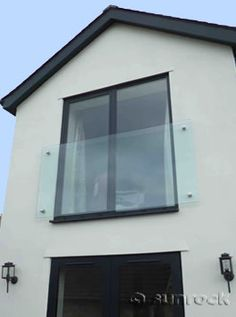Infinity Glass Juliet Balconies from Juliet Glass Infinity Balconies Glass Juliet Balcony, Juliette Balcony, Glass Balcony, Loft Conversion Bedroom, Dormer Loft Conversion, Balcony Window, Balcony Railing, Loft Room, Bedroom Loft