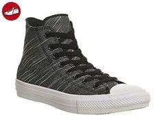 Converse All Star Chuck Taylor II Hi Schuhe Sneaker Turnschuhe Schwarz  151087C, Größenauswahl:44