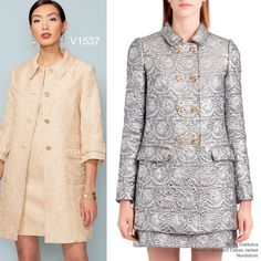 Sew the Look: Vogue Patterns V1537 coat and dress sewing pattern