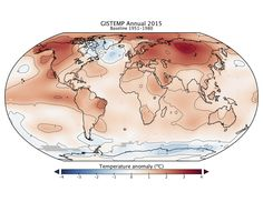 """NASA on Twitter """"LIVE NOW @Reddit Science Q&A w/ @NASAGISS scientists. Ask Qs on 2015 warmest year on record: https://www.reddit.com/r/science/comments/41zr2t/science_ama_series_we_are_gavin_schmidt_and_reto/"""""""