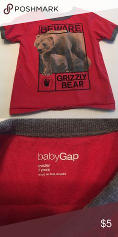 Gap - toddler boy shirt Size 3T boys t-shirt; excellent condition GAP Shirts & Tops Tees - Short Sleeve
