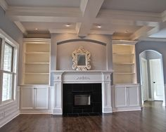 Fireplace With Bookcases Design, Pictures, Remodel, Decor and Ideas - page 5