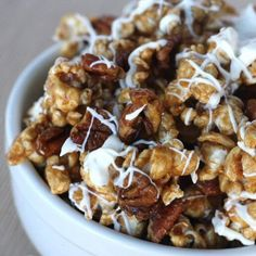 Cinnamon bun popcorn - posting this here so I can find it easily.  This is the best stuff ever.