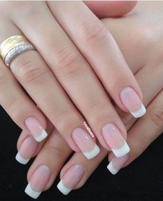 Bridal nails french, french tip nails, french manicure acrylic nails, coffin nails, French Nails, French Manicure Acrylic Nails, Best Acrylic Nails, Nail Manicure, Gel Pedicure, French Manicures, French Tip Acrylics, Coffin Nails, French Tip Nail Designs
