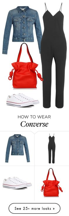 """sunday"" by francymayoli on Polyvore featuring Acne Studios, IRO, Converse and Loewe"