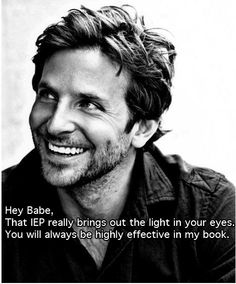 Bradley Cooper...anytime ultimate