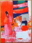 Bernard Cathelin Vintage Print  - Original Lithograph 1964 Vintage Art Prints, The Originals, Painting, Painting Art, Paintings, Painted Canvas