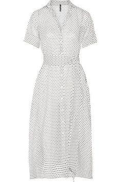Lisa Marie Fernandez - Polka-dot Cotton-voile Midi Dress - White -