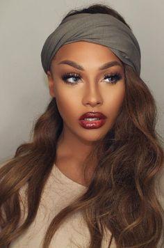 makeup & headwrap | sonjdradeluxe