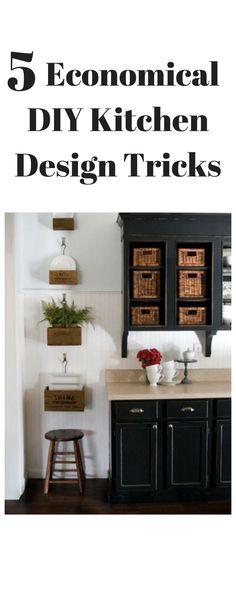 5 Economical DIY Kitchen Design Tricks kitchen ideas kitchen design kitchen island