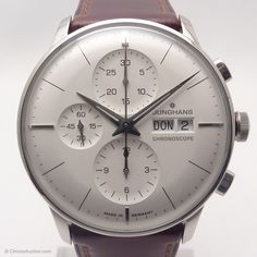 Junghans Watch,Reference 027-4120.00,Meister Chronoscope Chronograph,Self-Winding Kal. J880.1 $1,950.00