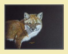 Fox Print, Frame Sizes, Giclee Print, Wildlife, Etsy Shop, Artist, Painting, Animals, Image