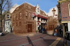 Restaurant Het Gulden vlies in Alkmaar, 1908. Originele foto: http://www.archiefalkmaar.nl/beeldbank/57cbedbb-5427-4141-8f64-ce8e9ead79e6