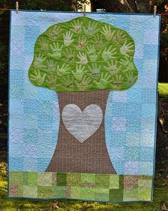Preschool Auction Tree Quilt