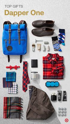 Lookin' for the perfect Christmas gift for the man in your life, whether that's Dad, your hubby, boyfriend or brother? Simplify your holiday shopping experience by getting unique, on-trend finds for the dapper one at Target. From Harry's shaving kits, Duluth Pack backpacks, hot new electronics and plaid everything, you'll find something he's sure to love. Need more inspiration? Check out The Wonderlist Gift Guide.
