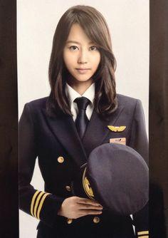 Korean Beauty, Asian Beauty, Female Pilot, Army Uniform, Military Women, Professional Women, Pure Beauty, Beautiful Women, Actresses