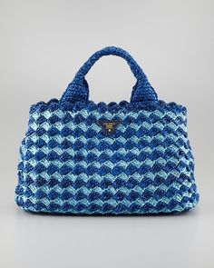 Prada Crocheted Bag <3