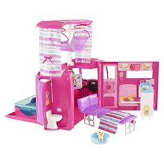 Barbie Sisters Go Camping! Pop-Up Camper - Mattel - boneca Barbie Camper, Barbie Go, Barbie Doll Set, Barbie Sets, Doll Clothes Barbie, Barbie Doll House, Barbie Dream House, Barbie Stuff, Doll Stuff