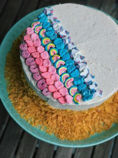 My take on a cereal milk cake inspired by the magical Milk Bar Store Cereal Milk. Cereal Milk, Milk Cake, Corn Flakes, Celebration Cakes, Birthday Cake, Inspired, Desserts, Food, Shower Cakes