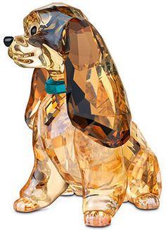 "Swarovski Collectible Disney Figurine, ""Lady"""