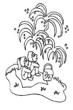 new years coloring pages New Years Eve coloring page of people