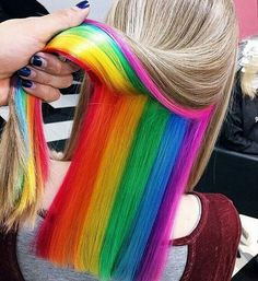 untitled #fashion #hair #beauty #Dream #rainbow #girl #photooftheday #colors #FF #followback