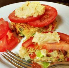 Hummus Quinoa Cakes - Vegetarian and Gluten Free! Great use for leftover quinoa.