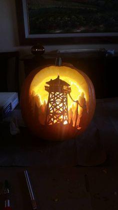 Firewatch pumpkin